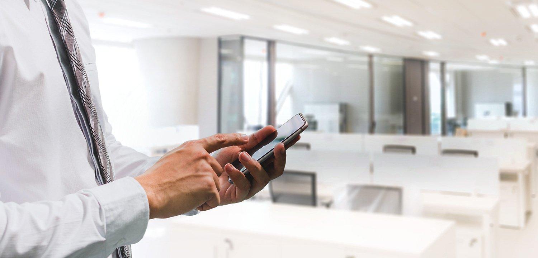 SmartOffice mit smarter Meetingraumreservierung
